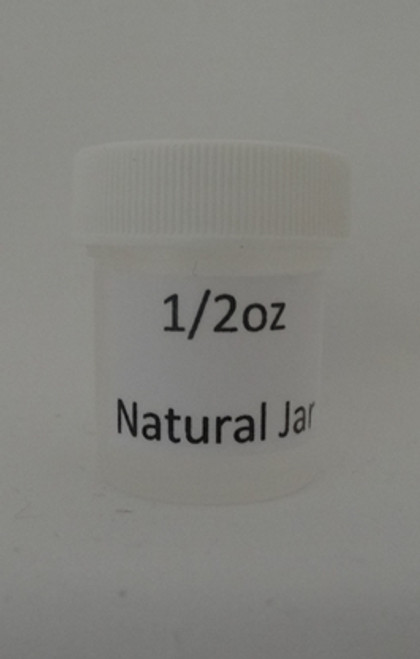 JAR NATURAL 1/2 OZ - DZ