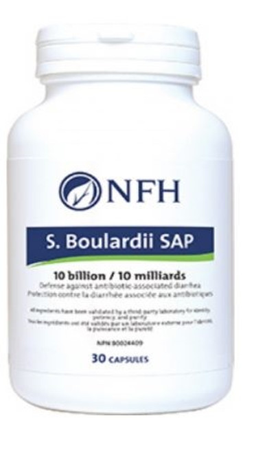 S. Boulardii SAP (10 Billion, Defence Against C. difficile) 30 capsules