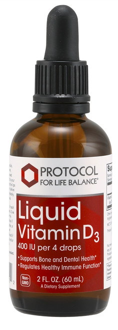 LIQUID VITAMIN D-3  2FL. OZ