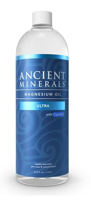 Ancient Minerals - Magnesium Oil Ultra w/MSM - 33.8 fl oz / 1L