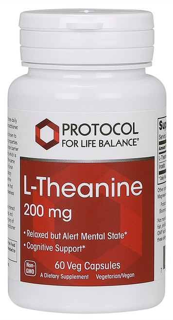 THEANINE 200 MG  60 VCAPS