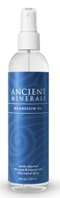 Ancient Minerals - MAGNESIUM SPRAY 8oz