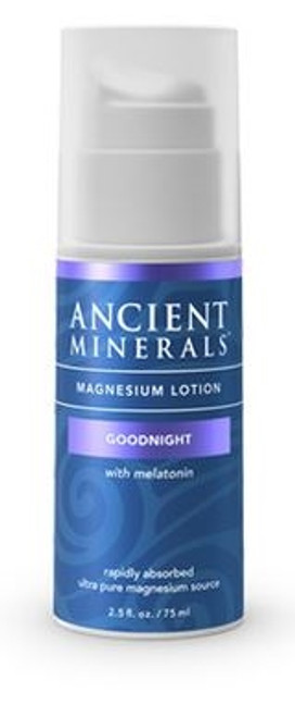 Ancient Minerals- Magnesium Lotion Goodnight - 2.5oz / 75ml
