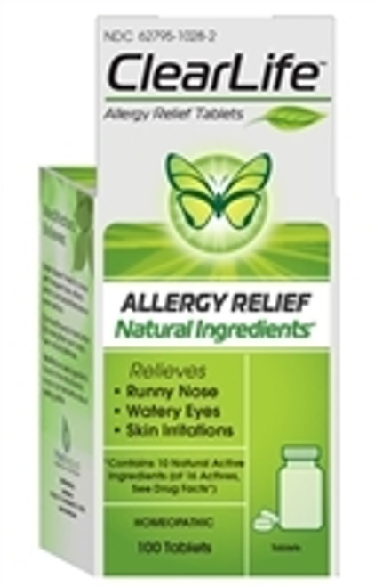 ClearLife Allergy Tablets