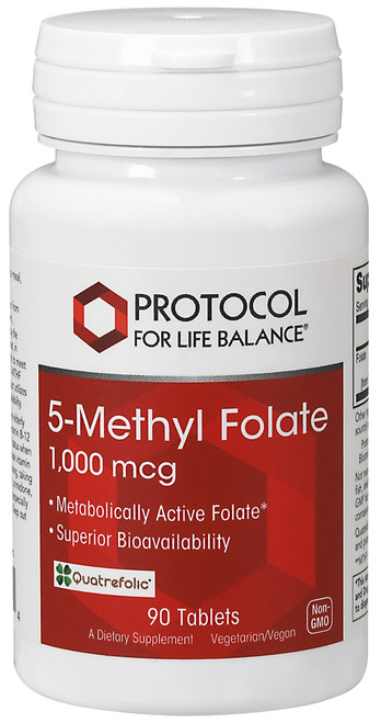 5-METHYL FOLATE 1,000 MCG  90 TABS