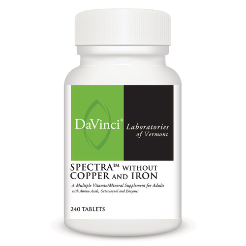 SPECTRA WITHOUT COPPER AND IRON 240 count