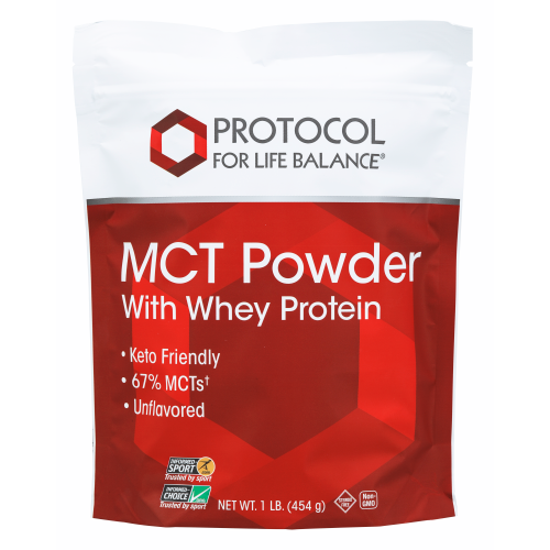 Protocol MCT POWDER WITH WHEY PROTEIN  1 LB