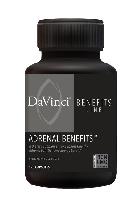 ADRENAL BENEFITS 120 count