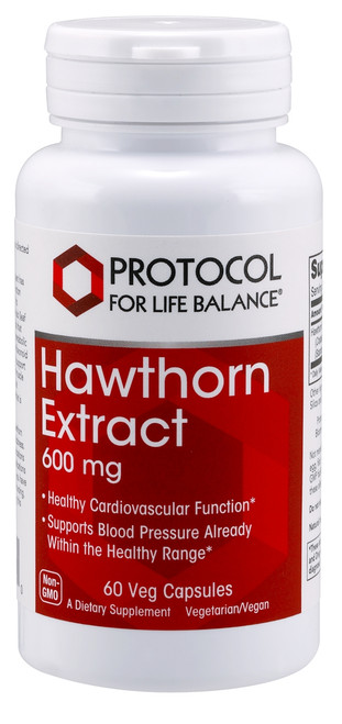 HAWTHORN EXTRACT 600mg 60 VCAPS