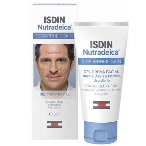 Isdin Nutradeica Seborrheic Skin Facial Gel-Cream 50ml
