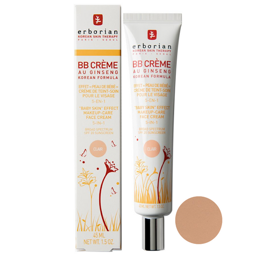 Erborian BB Cream au Ginseng Clair SPF20 45ml
