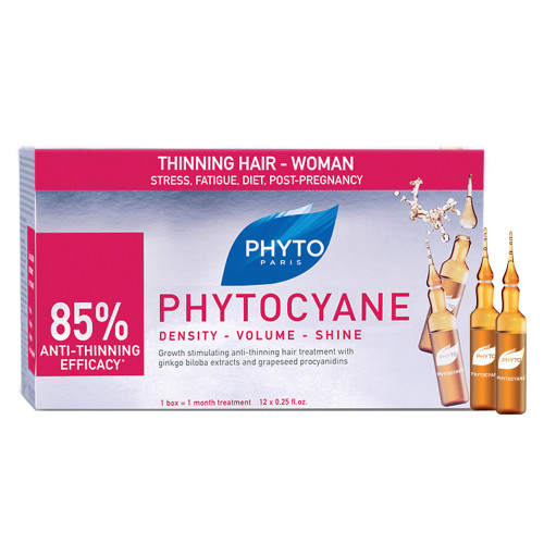 Phyto Phytocyane Revitalizing Treatment Serum 12 ampoules