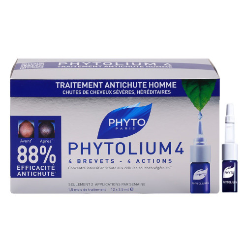 Phyto Phytolium 4 Treatment for Men 12 Ampoules