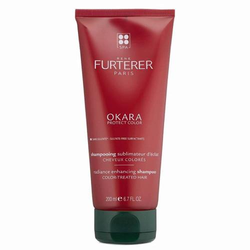 Rene Furterer Okara Protect Color Radiance Enhancing Shampoo 200ml