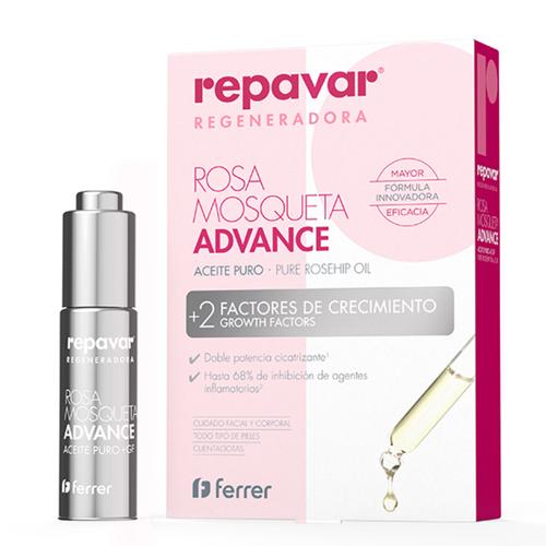Repavar Aceite Puro Rosa Mosqueta Advance 15ml