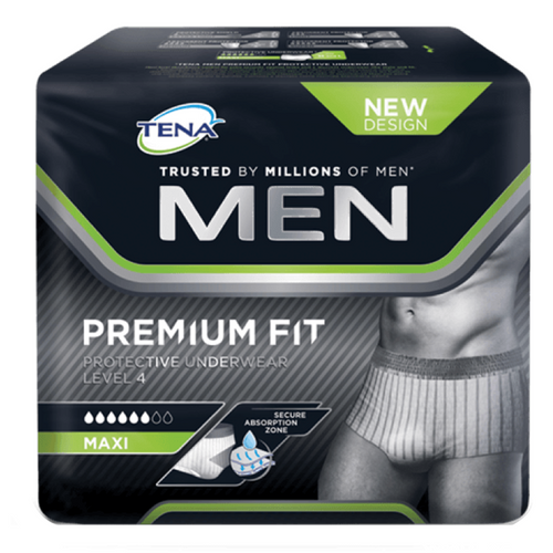 Tena Men Premium Fit Level 4 Medium 12 units