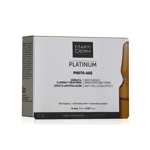 Martiderm Platinum Photo Age 10 ampoules
