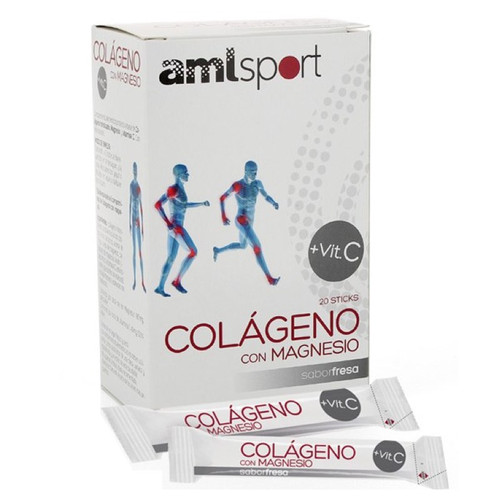 AMLsport Collagen with Magnesium + Vitamin C