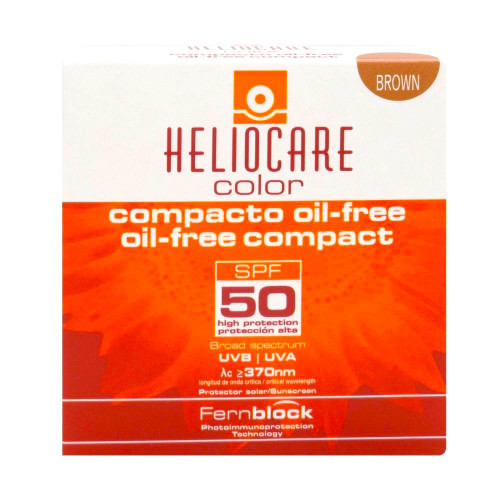 Heliocare Color Compact Oil-Free Brown SPF 50