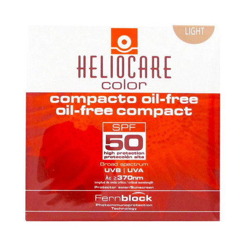 Heliocare Color Compact Oil-Free Light SPF 50