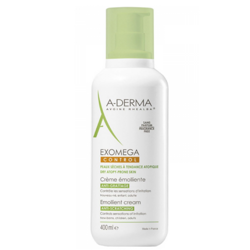 A-Derma Exomega Control Emollient Cream 400ml