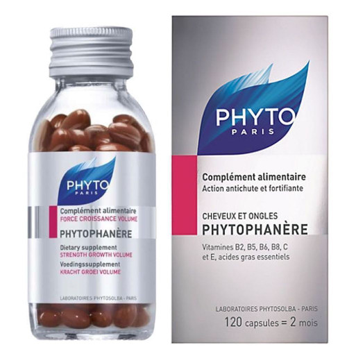 Phyto Phytophanere Hair & Nails Supplements 120 caps