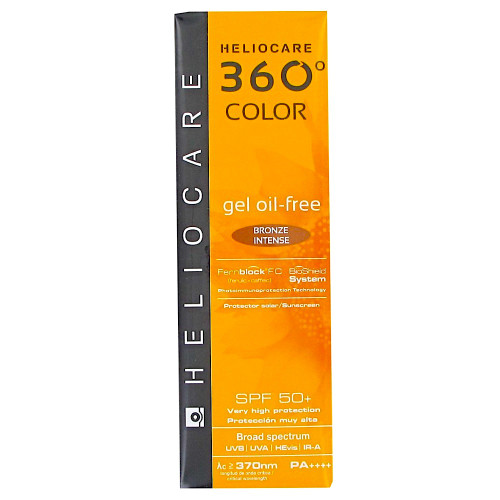 Heliocare 360 Color Gel Oil Free Bronze Intense SPF50