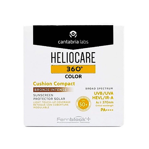 Heliocare 360 Color Cushion Compact Bronze Intense SPF 50+