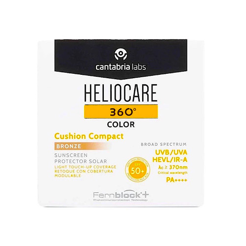 Heliocare 360 Color Cushion Compact Bronze SPF 50+