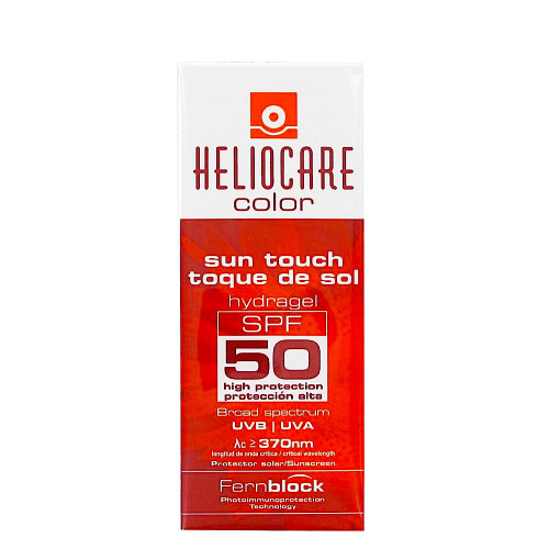 Heliocare Color Sun Touch Hydragel SPF 50