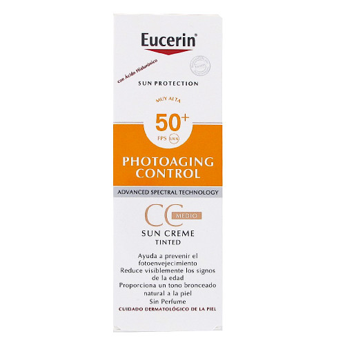 Eucerin Sun CC Cream Photoaging Control Medium FPS50