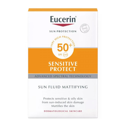 Eucerin Sun Fluid Sensitive Protect Matt SPF 50