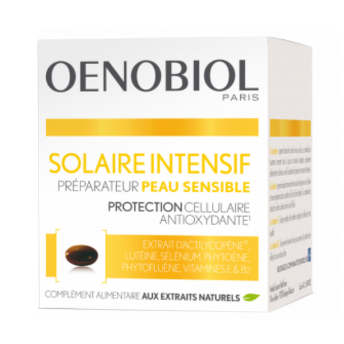Oenobiol Intensive Sun Sensitive Skin Preparer 30 Capsules