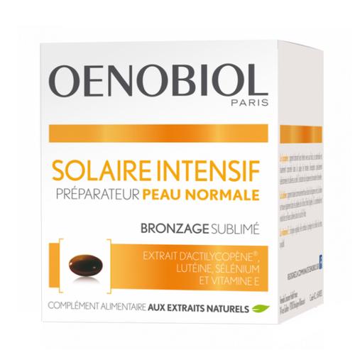 Oenobiol Intensive Sun Normal Skin Preparer 30 Capsules