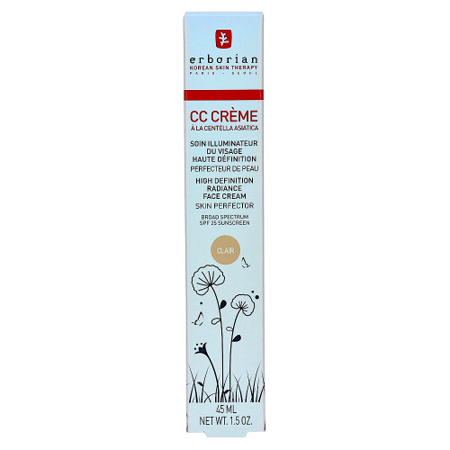 erborian CC Cream a La Centella Asiatica Clair 45 ml