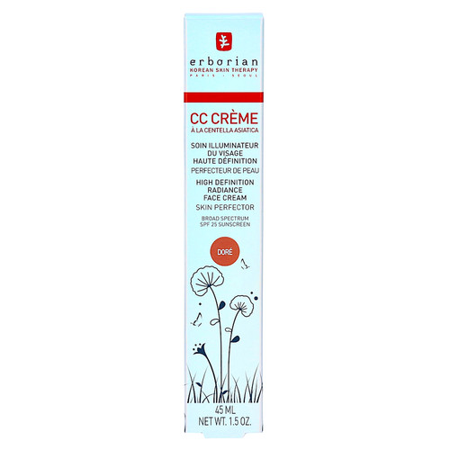 erborian CC Cream a La Centella Asiatica Doré 45ml