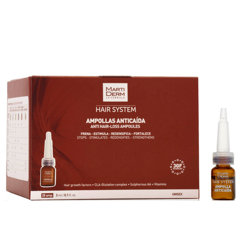 Martiderm Hair System Anti Hair-Loss 28 ampoules