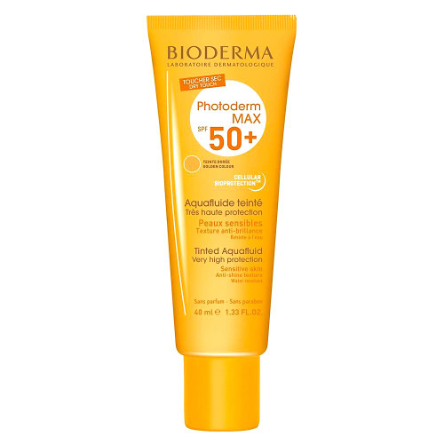 Bioderma Photoderm Max SPF50+ Tinted Aquafluid Golden 40ml