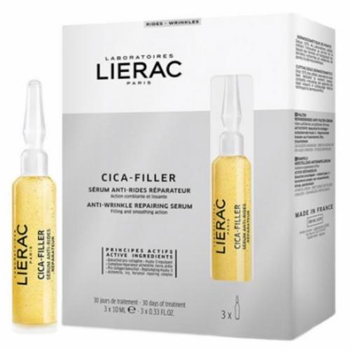 Lierac Cica Filler Anti-Wrinkle Repair Serum 3x10ml
