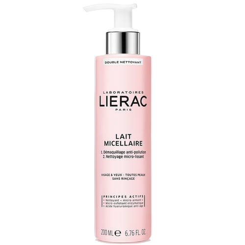 Lierac Micellar Cleansing Milk 200ml