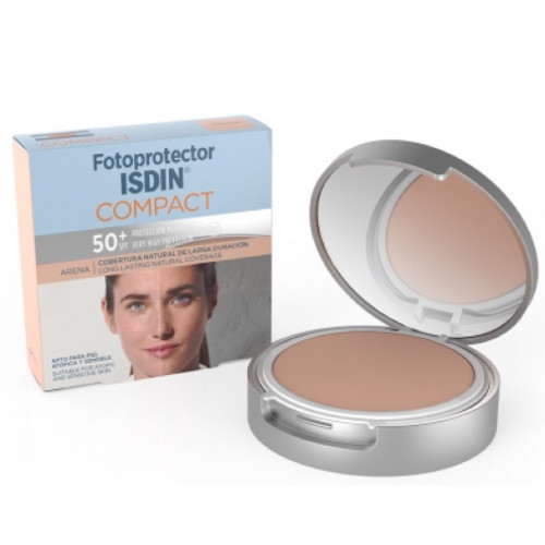 Isdin Compact Sand SPF50 + 10g