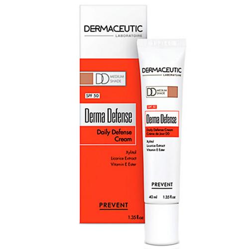 Dermaceutic Derma Defense DD Day Cream Medium Color 40ml