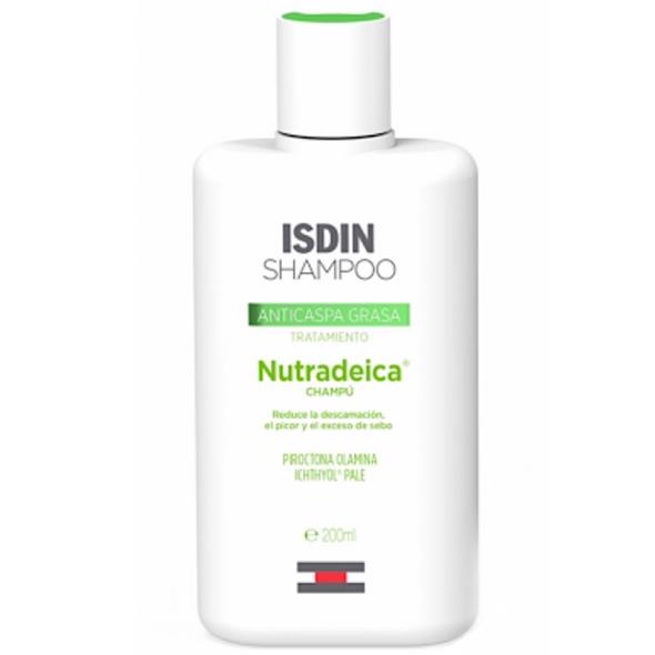 Isdin Nutradeica Oily Anti Dandruff Shampoo 200ml