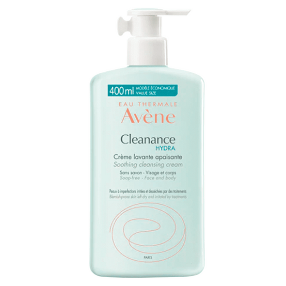 Avène Cleanance Hydra Soothing Cleansing Cream 400ml