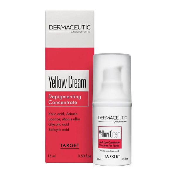 Dermaceutic Yellow Cream Dark Spot Concentrate 15ml