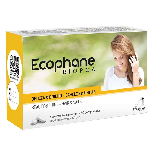 Ecophane hair loss fragile nails 60 tablets