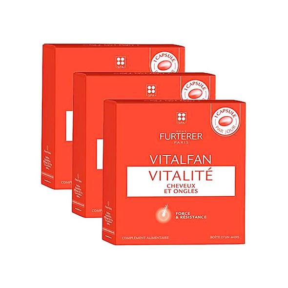 Rene Furterer Vitalfan Vitality Hair Strength and Resistance 90 count