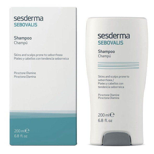 Sesderma Sebovalis Treatment Shampoo Hair 4.5% Lactic Acid 200ml