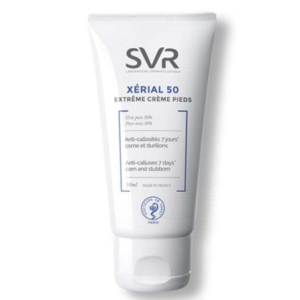 SVR XÉRIAL 50 EXTREME Foot Cream Anti-Calluses 50 ml