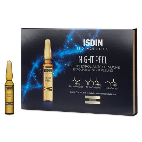 Isdinceutics Night Peel Exfoliante Noche 10 Ampoules